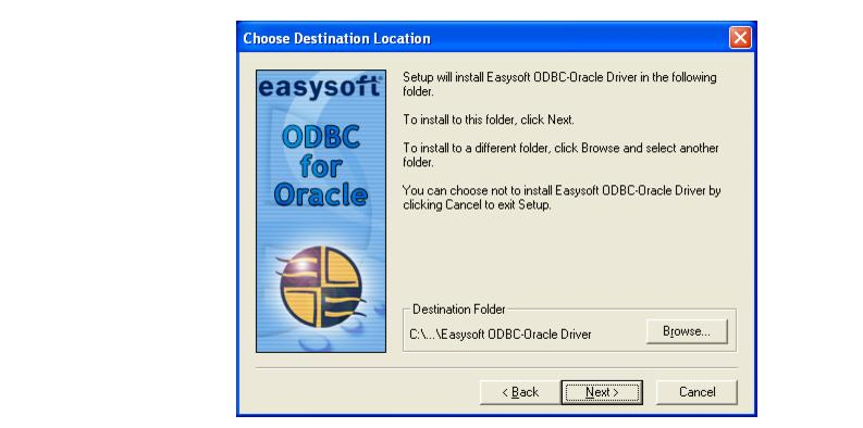 Easysoft ODBC-Oracle Driver User Guide - Installation